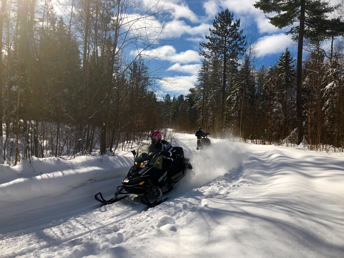 cochrane area trails northern ontario snowmobiling