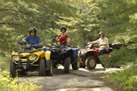 ATVing in Ontario