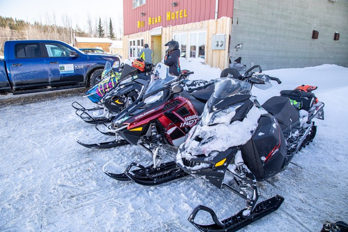 big bear hotel ontario snowmobiling