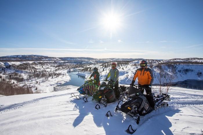 high lookout wawa snowmobiling