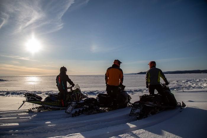 lake lookout wawa snowmobiling
