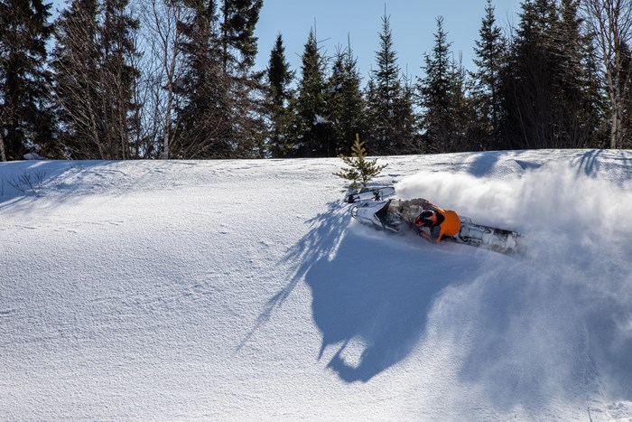 steep turns in powder boondocking ontario wawa