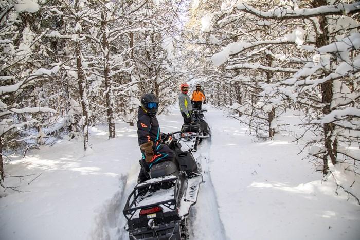 trail breaking in wawa