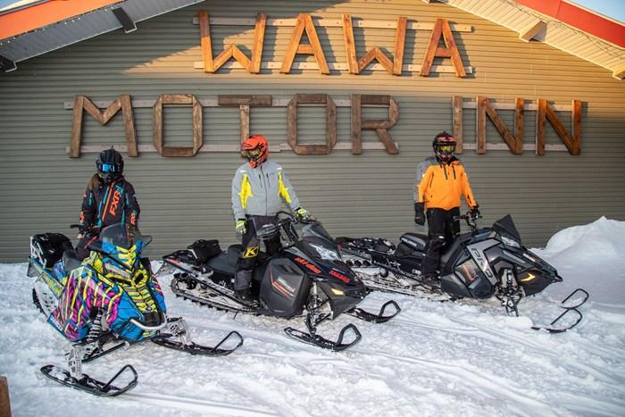 wawa motor inn snowmobiling