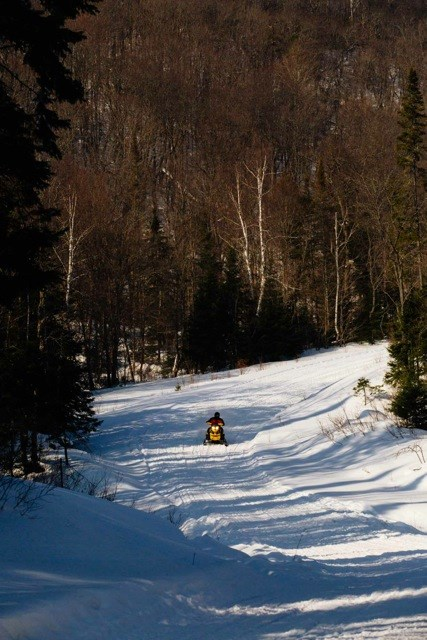 snowmobile trail ontario