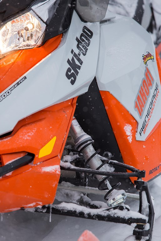 2017 Ski-doo Renegade Backcountry 600 close up