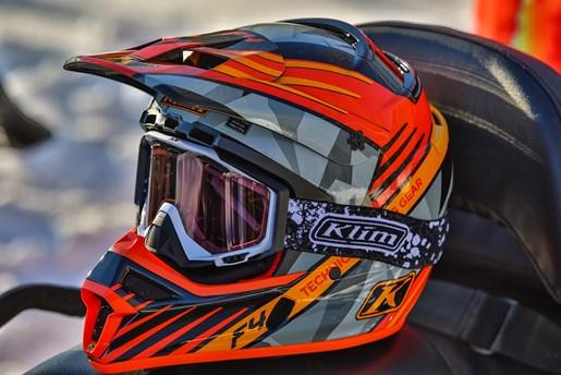 Klim gear helmet