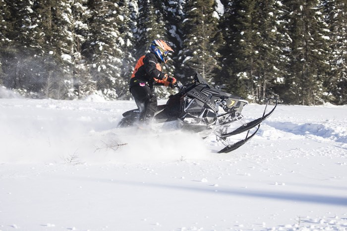 2017 Polaris Switchback Assault 144 Kilm gear Abitibi Canyon Tour