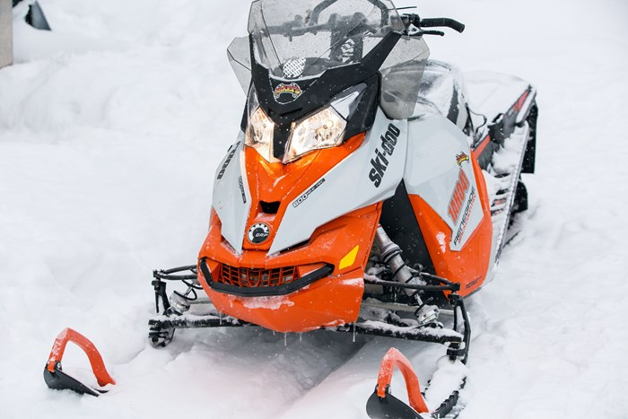 2017 Ski-doo Renegade Backcountry 600 close
