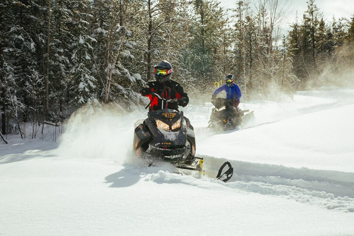 Horwood Lake Lodge Snowmobile Trails