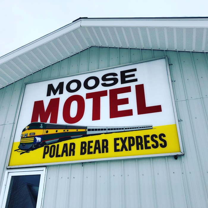 Moose Motel Snowmobiling