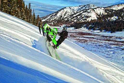 Mountain Arctic Cat M1100 Turbo snowmobile for sale