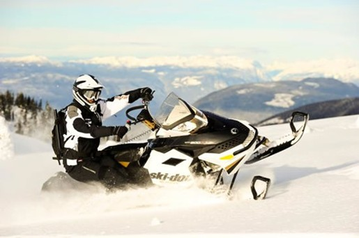 Mountain Ski Doo Summit X snowmobile for sale