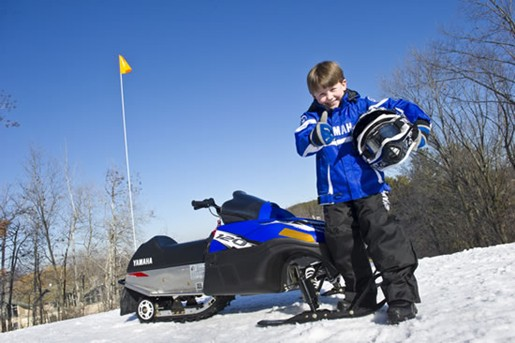 Youth Yamaha SRX 120 snowmobile for sale
