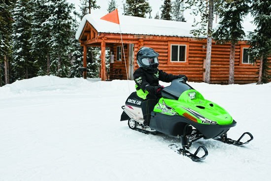 Youth Arctic Cat Sno Pro 120 snowmobile for sale