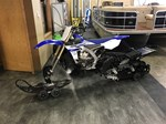 Yamaha YZ450FX Timbersled ST Snowbike 2016
