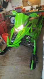 2016 Arctic Cat ZR 9000 Limited 137 Team Arctic Green