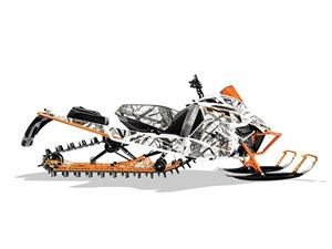 Arctic Cat M 8000 Limited ES 162 Orange 2017