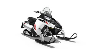 Polaris 550 INDY ES - WHITE LIGHTNING / 26$/sem garantie 2 2017