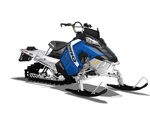 Polaris 600 PRO RMK 155 ES - VELOCITY BLUE / 33$/sem garan 2017