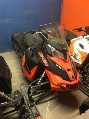 Ski-Doo Renegade Adrenaline ACE 900 Black / Race Orange 2016