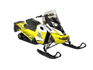 Ski-Doo MXZ TNT 600 H.O. E-TEC White / Sunburst Yellow 2018