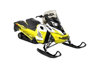 Ski-Doo MXZ TNT 900 ACE White / Sunburst Yellow 2018