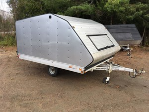 Sno Pro 10'X101 ENCLOSED TRAILER 2014