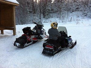 Polaris Rush Switchback 800 ProR 2012