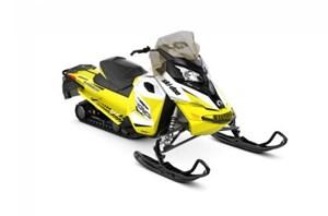 Ski-Doo MXZ® TNT® 600 H.O. E-TEC® - White/Sunburst Yellow 2018