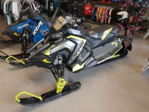 Polaris 800 Switchback PRO-S LE Stealth Black / Lime Squee 2018