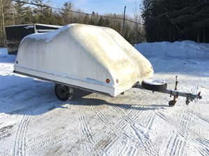 Hyland FIBERGLASS TWO PLACE  ENCLOSED TRAILER 11 FT. 2003