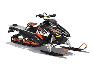 Polaris 800 PRO-RMK 163 LE Matte Stealth Black with Orange 2015