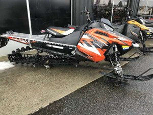 Polaris 800 PRO-RMK 163 LE Matte Orange Madness 2015
