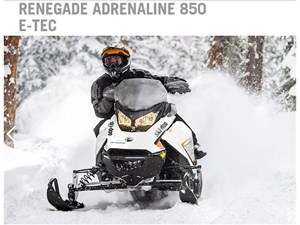2018 Ski-Doo RENEGADE ADRENALINE 850 E-TEC Photo 8 of 15