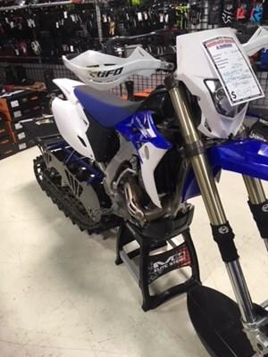 Yamaha WR450F w/ TIMBERSLED ST-120 2014
