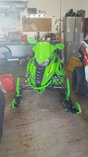 Arctic Cat ZR 9000 Limited (137) 2016