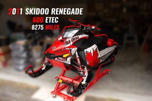 Ski-Doo Renegade Adrenaline 600HO ETEC 2011