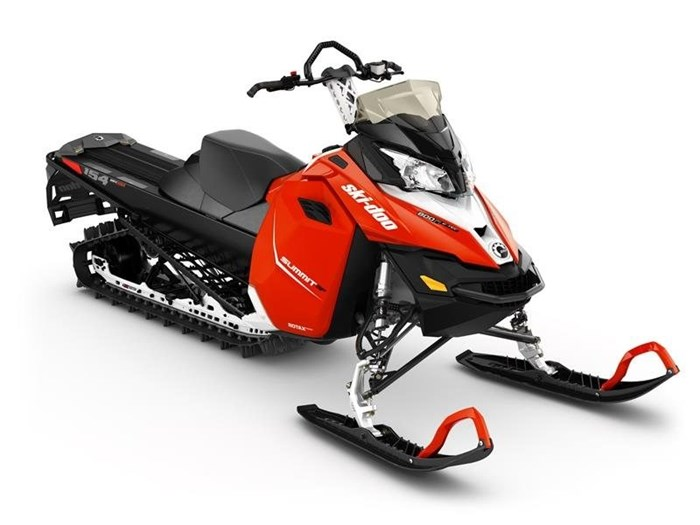 2016 Ski-Doo Summit SP E-TEC 800R 154 Lava Red / Black Photo 1 of 1