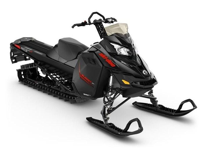 2016 Ski-Doo Summit SP E-TEC 800R 163 Black Photo 1 sur 1