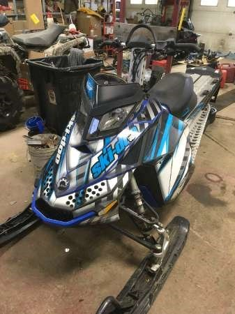 Ski-Doo Summit Everest 800R 154 2010 Used Snowmobile for ...