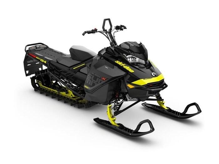2017 Ski-Doo Summit X 850 E-TEC 154 Black Photo 1 of 1