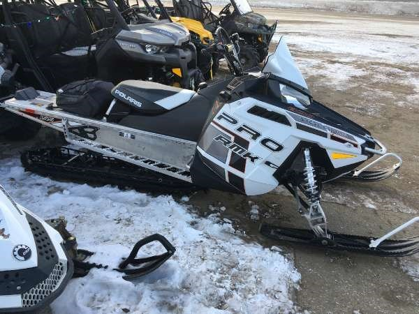 Polaris 800 Rmk 155 2014 Used Snowmobile For Sale In Meadow Lake  Saskatchewan