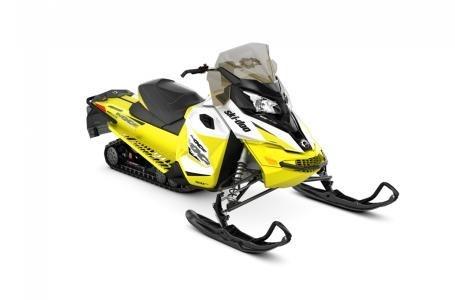 2018 Ski-Doo MXZ® TNT® 600 H.O. E-TEC® - White/Sunburst Yellow Photo 1 of 2