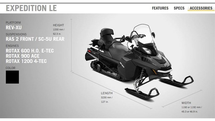 2018 Ski-Doo 1 LEFT EXPEDITION LE 900 ACE Photo 5 of 13