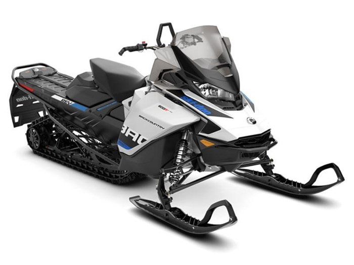 2019 Ski-Doo Backcountry™ Rotax® 600R E-Tec® White & Photo 1 of 1