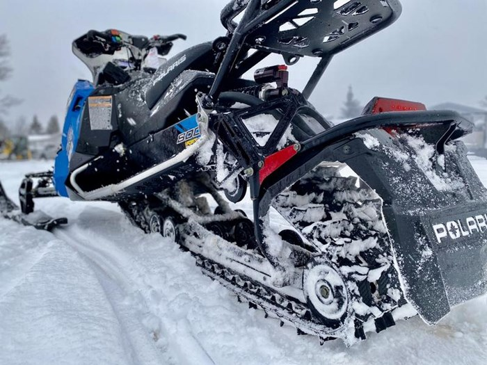 2018 Polaris Switchback® XCR 800 H.O. Cleanfire® 137 Photo 9 of 19