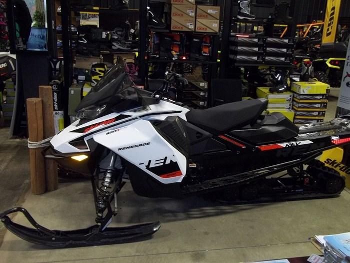 2019 Ski-Doo Renegade® Adrenaline 600R E-TEC White & Photo 1 of 2