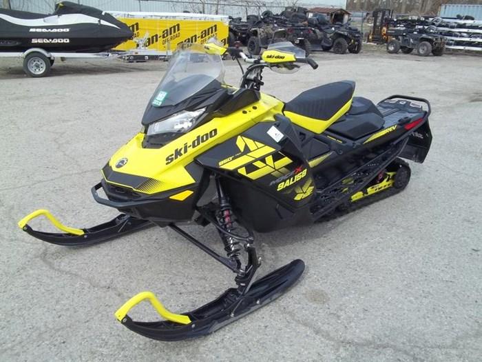 2018 Ski-Doo MXZ® X® Ice Ripper XT 1.25 Rotax® 850 E- Photo 4 sur 6