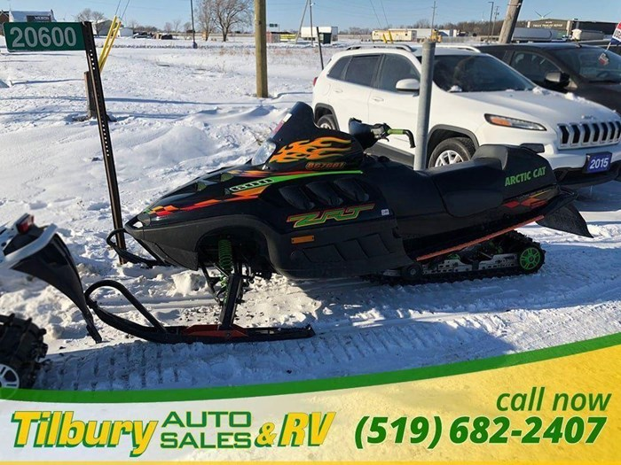 2000 Arctic Cat ZRT 600 Photo 12 of 12